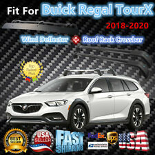 Top Roof Rack Fits Buick Regal TourX 2018-2020 Luggage Crossbar+Wind Deflector