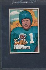 1951 Bowman #132 Bill Swiacki Lions VG/EX *188