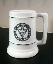 Providence College ~ Large ceramic beer stein w gold trim, 5¾ inch tall, 26 oz.