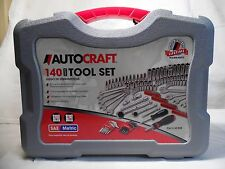 Autocraft 140 Piece Tool Kit *Would make a Great Present ! Look