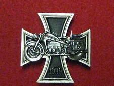 Iron Cross/Motorcycle Commemorative Badge 1939