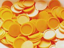 1000 Einkaufswagenchips Pfandmarken in orange EKW-MG