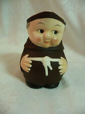 Vintage Goebel Friar Tuck Monk Cream Pitcher