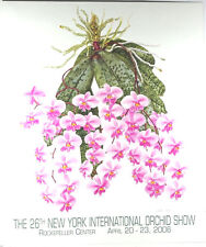 26th New York International Orchid Show 2006 Poster by Angela Mirro