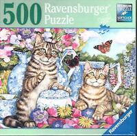 """Ravensburger """"Teapot Cats""""   500 Piece Puzzle"""