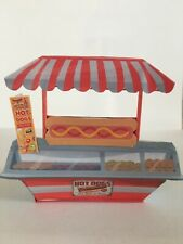 dollhouse miniature Handcrafted Hot Dog Stand