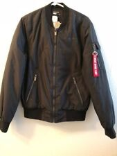 Designer Bomber A1 Jacket For Justin Timberlake Blk Mens Small Regular
