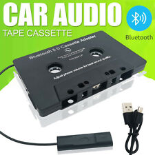 More details for bluetooth cassette tape adapter car audio usb mp3 radio player hands-free kit uk