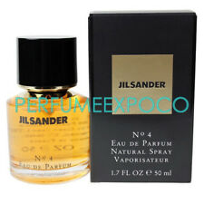 JIL SANDER No 4 EDP 1.7oz - 50ml Eau De Parfum Spray SEALED *VINTAGE* (HE31