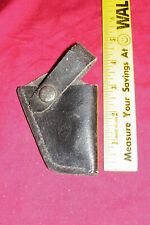 Small Leather Derringer Holster .22 .25 Auto Belt Pocket Gun Pistol Tiny Little