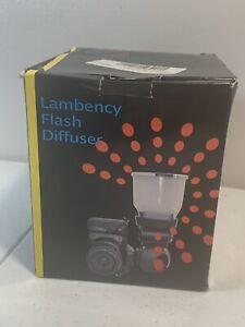 Lambency Flash Diffuser  Photography Damaged Box. Product Undamaged.