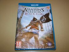 Assassin's Creed IV: Black Flag Nintendo Wii U ** Neu & Versiegelt **