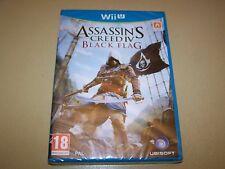 ASSASSIN'S CREED IV: BLACK Flag Nintendo Wii U ** Nuovo e Sigillato **