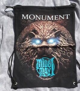 Miss May I Bag - Monument - Gym/drawstring Style Back Pack