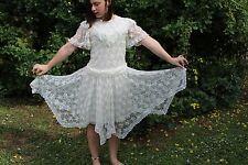 gunne sax dress flapper vintage lace dress girls size 14