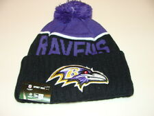 Baltimore Ravens Knit On Field New Era Toque Beanie Player Sideline NFL Cap Hat