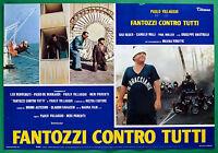 T28 Fotobusta Fantozzi Gegen Alle Paolo Dorf Gigi Reder Paul Muller 7