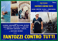 T28 FOTOBUSTA FANTOZZI CONTRO TUTTI PAOLO VILLAGGIO GIGI REDER PAUL MULLER 7