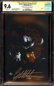 DISNEY COMICS 13 CGC SS 9.6 GABRIELE DELL'OTTO MICKEY MOUSE FOIL VIRGIN VARIANT