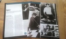DEEP PURPLE 'Listen,Learn' box set review 2 page UK ARTICLE / clipping