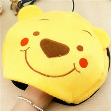 Adorable Winter Hand Warmer Mouse Pad USB Heated Plush Winnie Pattern Safe