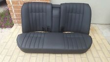 BMW E28 528i 535i 535is BLACK 100% LEATHER REAR UPHOLSTERY KIT NEW