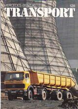 1983 MERCEDES BENZ TRANSPORT Mag #128 in English 508D, UNIMOG 1700L in Outback