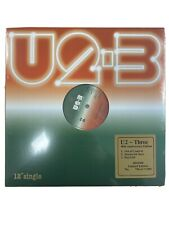 "U2 12"" Vinyl - Three - U2-3 - SEVERAL NUMBERS  BELOW 1000 - SEALED - RARE"