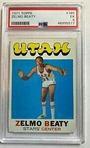 1971 Topps ZELMO BEATY #165 PSA 5 EX