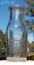 SUPER rare BOWLING PIN shape BUTTE MONTANA milk bottle ODD size as well