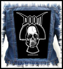 DOOM - Doomed Again --- Giant Backpatch Back Patch
