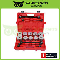 27Pcs Universal Press And Pull Sleeve Kit Bush and Bearing Removal Set