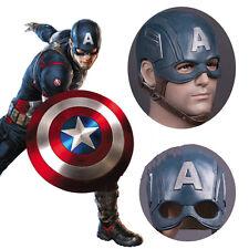 Captain America 3 Steven Rogers Latex Mask Cosplay Halloween Masquerade Props