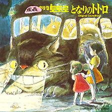 O.S.T - My Neighbor Totoro Soundtrack Joe Hisaishi JPOP OBI New KOREA EDITION
