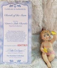 CHERUB OF THE STARS Cherub Figurine The Hamilton Collection 1997 New In Box