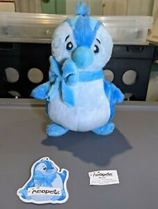 """Electric Bruce: Neopets Rare Vintage 7"""" Plush (2003 Snap Mfg #70042, LimitedToo)"""