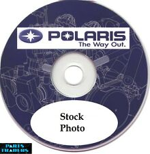 Genuine Polaris Dealer Service Manual CD Rom 2008 Outlaw 450 MXR 525 S IRS