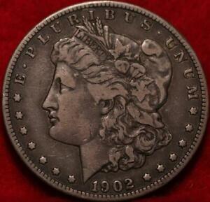1902-S San Francisco Mint Silver Morgan Dollar