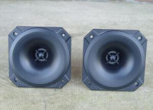 2 x Zeck HR50 / Electro-Voice T35 Hochtöner Horn NEUWERTIG