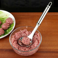 Meatball DIY Spoon Non Stick thick Stainless Steel Kitchen Utensil Meat Baller