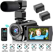 Video Camera Camcorder Camera FHD 1080P 30FPS 24MP 16X Digital Camera