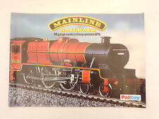 MAINLINE RAILWAYS 1979 CATALOGUE WITH PRICE LIST EXCELLENT