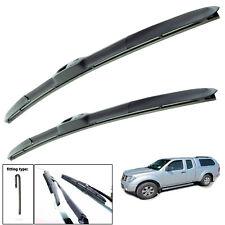 Fits Nissan Navara D22 Pickup Aero VU Front Flat Window Windscreen Wiper Blades