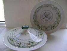 """Lovely Lidded Veg Dish and One Open Vegetable Dish in """"Provencial"""" Design."""