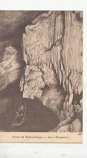 BF19341 grotte de remouchamps les draperies boat  belgium  front/back image