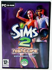 SEALED NEW The Sims 2: Nightlife Expansion Pack PC Video Game Region Free