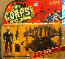 The CORPS Special Action Squad JET PATROL w/Detachable Missiles Lanard MOC