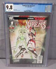 GOTHAM CITY SIRENS #1 (Harley Quinn, Catwoman, Poison Ivy) CGC 9.8 DC Comic 2009