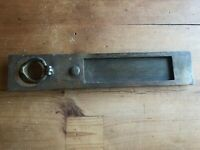 Old Letter Box Plate made from Brass with WORKING SPRING Door Mail Slot Mail Box