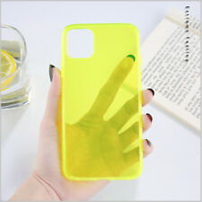 Soft TPU Glow In The Dark Luminous Case Cover For iPhone 11 Pro Max 7 8 Plus